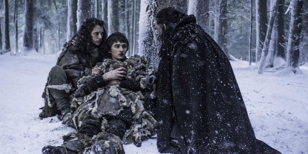 Bran and Benjen Stark