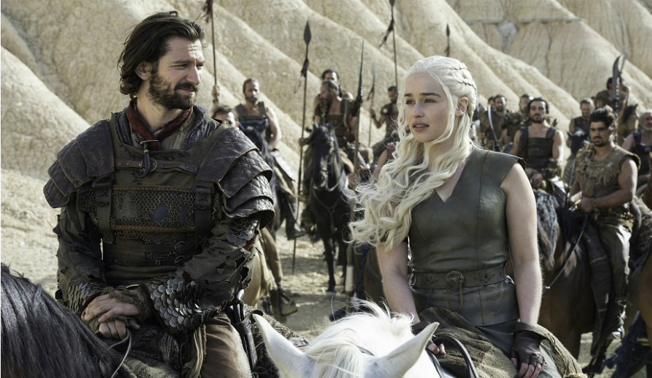 Daenerys Targaryen and Daario Naharis