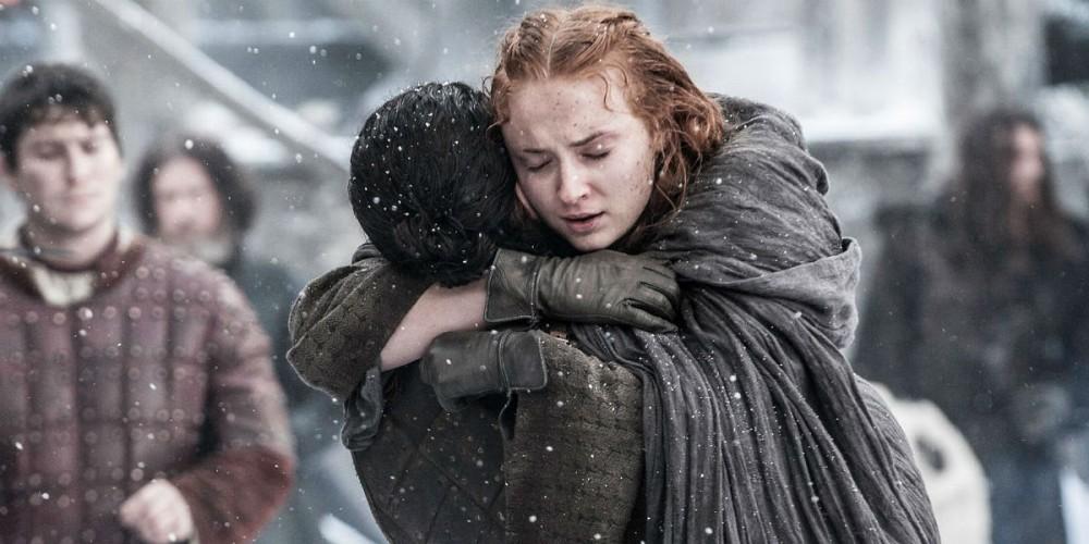 Jon Snow Sansa Stark
