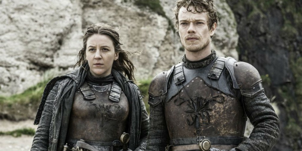Theon and Yara