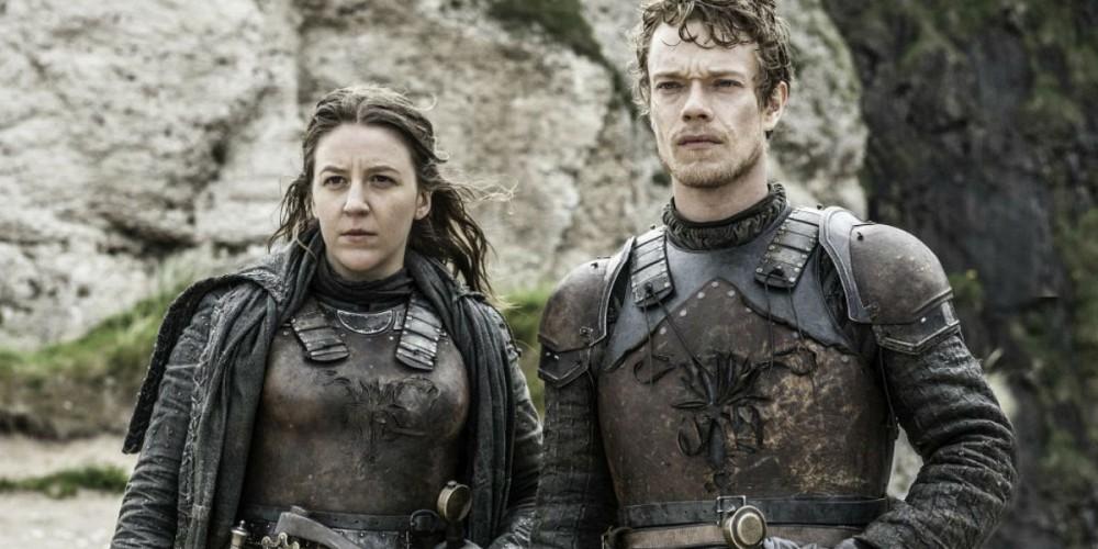 Theon and Yara
